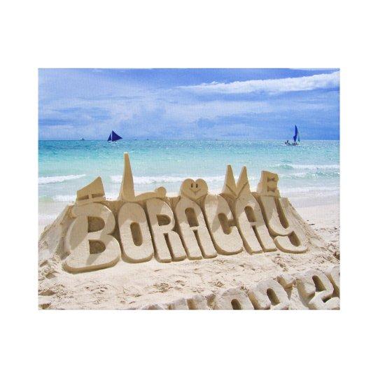 Boracay, Philippines, Beach & Sea View Canvas Print