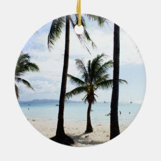 Boracay Philippines Christmas Ornament
