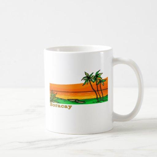Boracay, Philippines Coffee Mugs