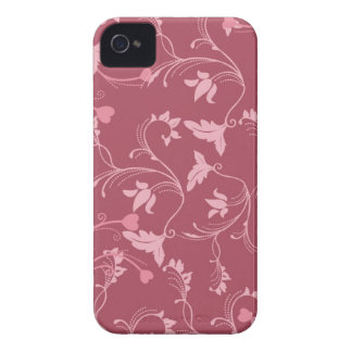 Bordeaux Floral iPhone 4 Cover
