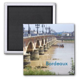 Bordeaux, France Magnet