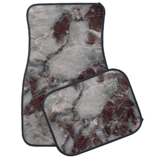 Bordeaux Grisso Stone Pattern Background - Rugged Floor Mat