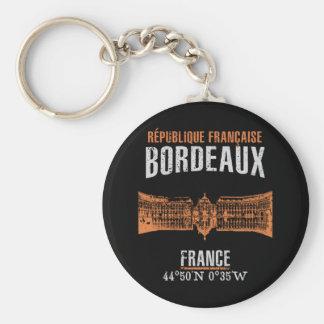 Bordeaux Key Ring
