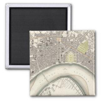 Bordeaux Square Magnet