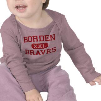 Borden - Braves - High School - Borden Indiana T Shirts