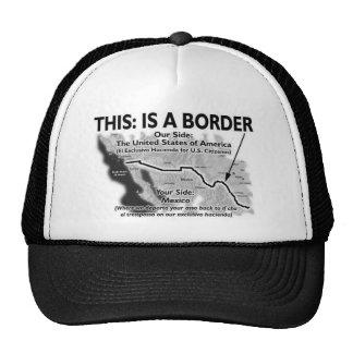 BORDER TRUCKER HATS