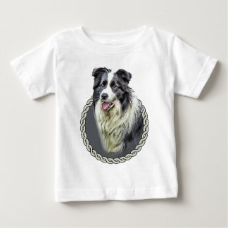 Border Collie 001 Baby T-Shirt