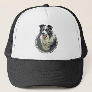 Border Collie 001 Trucker Hat