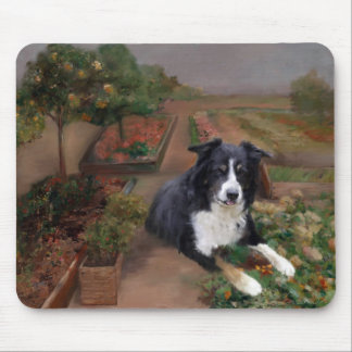 Border Collie 2 Mouse Mat