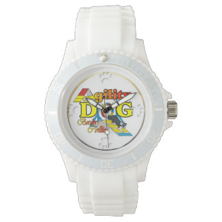 Border Collie Agility Dog Wristwatch