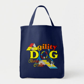 Border Collie Agility Gifts Tote