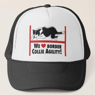 Border Collie Aglity Love Trucker Hat