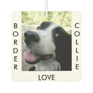 Border Collie Air Freshner/ DOG LOVER AIR FRESHNER