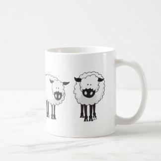 Border Collie and Her Sheep Coffee Mug