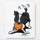 Border Collie at Play Mouse Mat