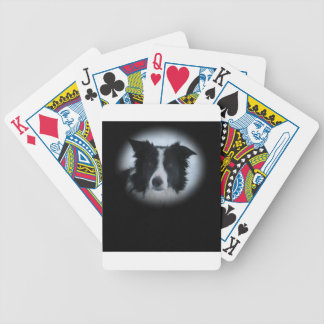 Border Collie Bicycle Playing Cards