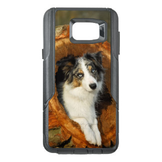 Border Collie Blue Merle Dog Photo - Commuter-Case OtterBox Samsung Note 5 Case