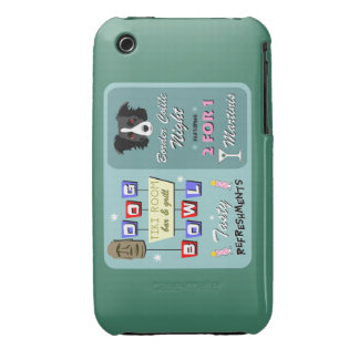 Border Collie Bowling iPhone 3 Cover