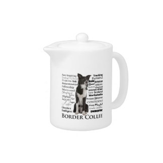 Border Collie Breed Traits Teapot