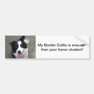 Border Collie Bumper sticke Bumper Sticker