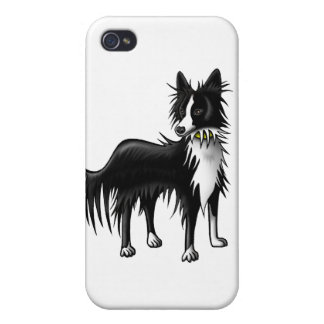 Border Collie Case For iPhone 4