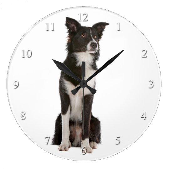 Border Collie Clock