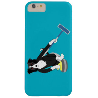 Border Collie Curling Barely There iPhone 6 Plus Case