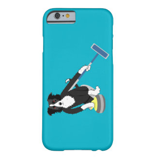Border Collie Curling iPhone 6 Case