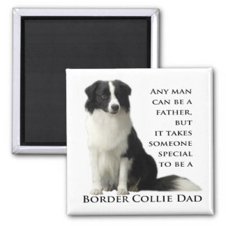 Border Collie Dad Magnet