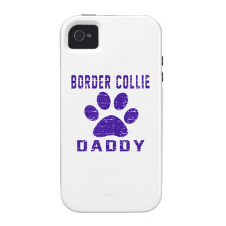Border Collie Daddy Gifts Designs Case For The iPhone 4