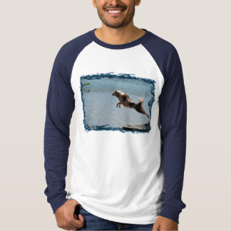 Border Collie Dock Diving Shirts