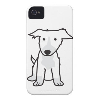 Border Collie Dog Cartoon iPhone 4 Cover