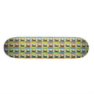 Border Collie Dog Cartoon Pop-Art Skate Boards