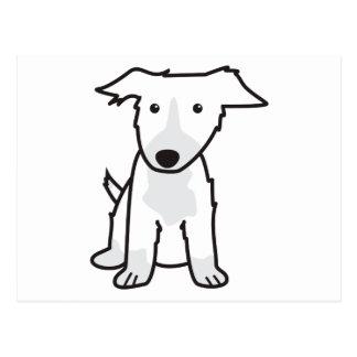 Border Collie Dog Cartoon Postcard