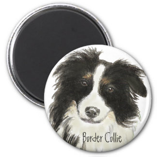 Border Collie Dog o Magnet