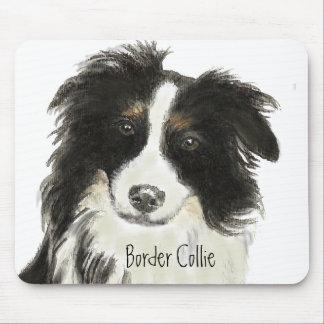 Border Collie Dog o Mouse Pad