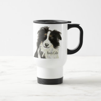 Border Collie Dog o Travel Mug