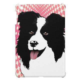 Border Collie Dog Pop Art Pet  Customize iPad Mini Cases