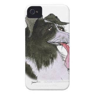 Border Collie dog, tony fernandes Case-Mate iPhone 4 Case