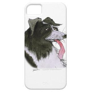 Border Collie dog, tony fernandes iPhone 5 Case