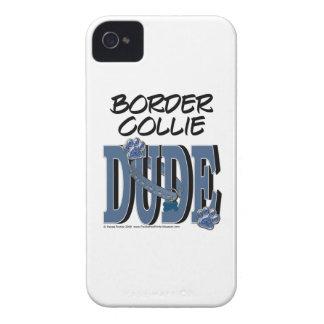 Border Collie DUDE iPhone 4 Cases