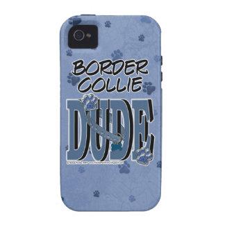 Border Collie DUDE iPhone 4/4S Cases