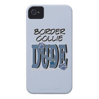 Border Collie DUDE Case-Mate iPhone 4 Case