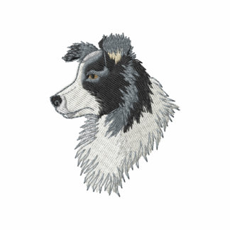 Border Collie Embroidered Shirts