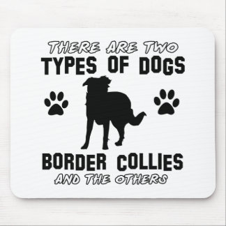 BORDER collie gift items Mouse Pad
