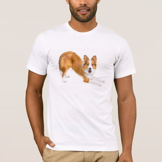 Border Collie Golden Red~Tee T-Shirt