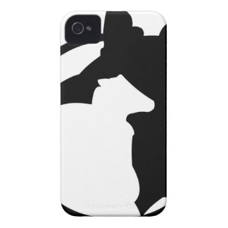 border collie got sheep Case-Mate iPhone 4 case
