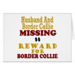 Border Collie  & Husband Missing Reward For Border