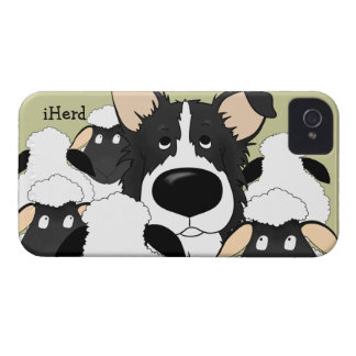 Border Collie - iHerd Case-Mate iPhone 4 Case