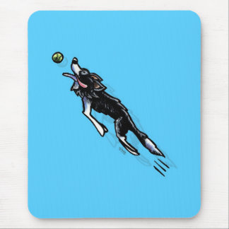 Border Collie in Action Mouse Mat